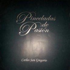 Arte: CARPETA DE 15 LAMINAS 40 X 28 PINCELADAS DE PASION CARLOS SAN GREGORIO.SEMANA SANTA ZAMORA.. Lote 78447865