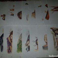 Arte: CARPETA DE 17 LAMINAS 40 X 28 ACUARELAS FERNANDO LOZANO BORDELL. LA SEMANA SANTA ZAMORA.. Lote 78449029