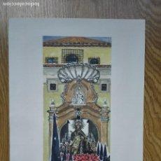 Arte: ENVÍO GRATIS. SEMANA SANTA ZARAGOZA. COFRADÍA NUESTRA SEÑORA DE LA PIEDAD E IGLESIA DE SAN NICOLÁS.. Lote 78678673