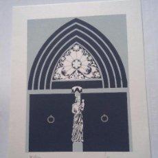 Arte: TARRAGONA - CATEDRAL - LAMINA 96/120 - ARAGONES. Lote 78905961