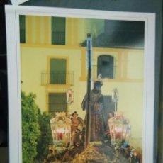 Arte: LAMINA TIPO CARTEL COLOR SEMANA SANTA DE SEVILLA - CRISTO JESUS NAZARENO. Lote 78911525