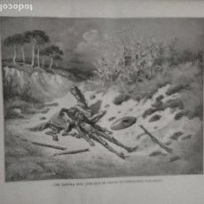Arte: KK - LAMINA GRABADO DE DORE - DON QUIJOTE DE LA MANCHA - ORIGINAL EDITADA EN MEXICO AÑOS 50. Lote 79561213