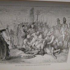 Arte: KK - LAMINA GRABADO DE DORE - DON QUIJOTE DE LA MANCHA - ORIGINAL EDITADA EN MEXICO AÑOS 50. Lote 79571437