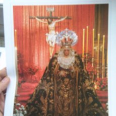 Kunst - 32 x 23 cm gran lamina fotografia semana santa sevilla virgen de montserrat - 83161656