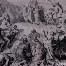 Arte: ALBUM ARTISTICO 1882-83, LAMINA: LOS CRUZADOS ANTE LOS MUROS DE JERUSALEN. Lote 84723288