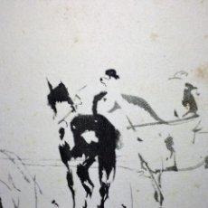 Arte: CABALLOS. LÁMINA. INGLADA. ESPAÑA. CIRCA 1960. Lote 89753340