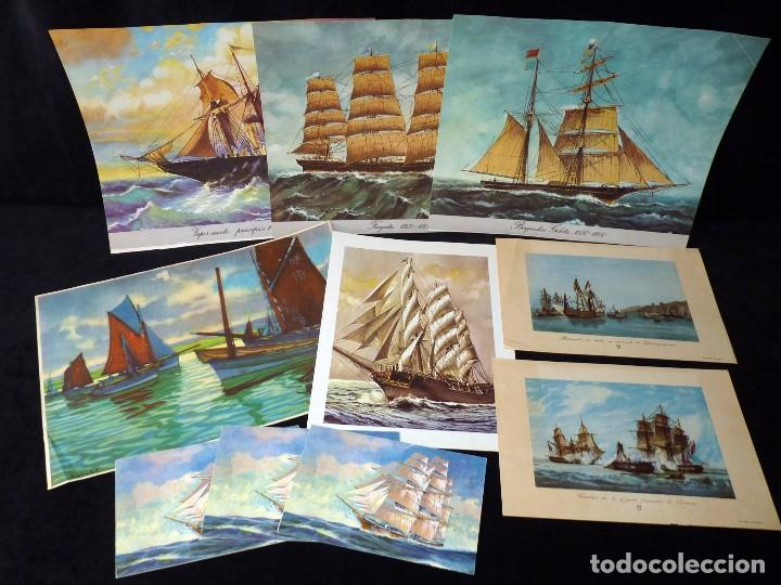 Arte: LOTE DE 195 LÁMINAS. VARIOS TEMAS Y TAMAÑOS. AÑOS 50 - Foto 11 - 90378312