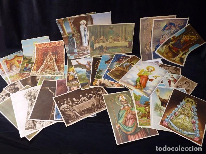 Arte: LOTE DE 195 LÁMINAS. VARIOS TEMAS Y TAMAÑOS. AÑOS 50 - Foto 12 - 90378312