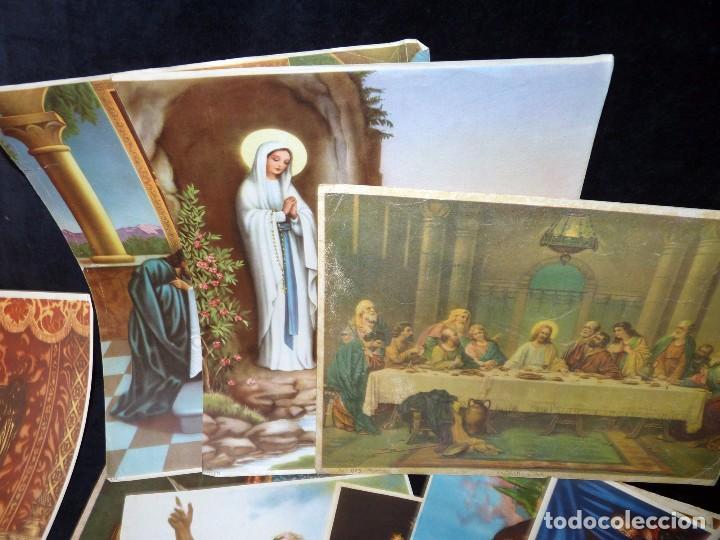 Arte: LOTE DE 195 LÁMINAS. VARIOS TEMAS Y TAMAÑOS. AÑOS 50 - Foto 15 - 90378312