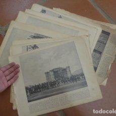 Arte: LOTE 64 LAMINA DE MONUMENTOS DE ESPAÑA, PANORAMA NACIONAL. . Lote 92281465