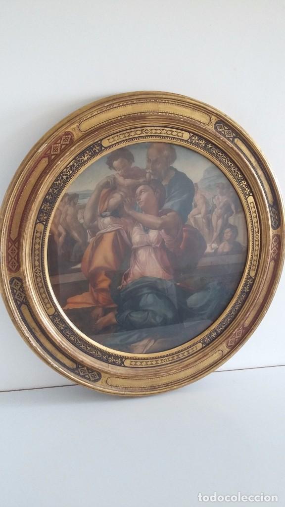 lamina mitica s xx - marco oval - pan de oro - - Comprar Láminas ...