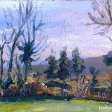 Arte: JOSEP TUR ROIG (MATARÓ, 1931) - LAMINA 30 X 20 DE UNO DE SUS PRIMEROS OLEOS 1947. Lote 93753090