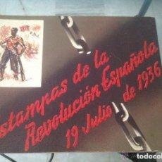 Arte: ESTAMPAS DE LA REVOLUCIÓN ESPAÑOLA 1936 (CNT. GUERRA CIVIL). SEGUNDA EDICIÓN: 31 LÁMINAS. AUTOR: SIM. Lote 94149180