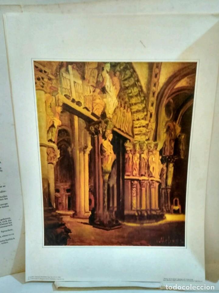 Arte: XUNTA DE GALICIA - CARPETA CON 6 LAMINAS - AÑO SANTO COMPOSTELANO 1982 - Foto 3 - 94321030