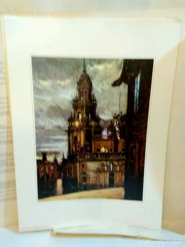 Arte: XUNTA DE GALICIA - CARPETA CON 6 LAMINAS - AÑO SANTO COMPOSTELANO 1982 - Foto 6 - 94321030