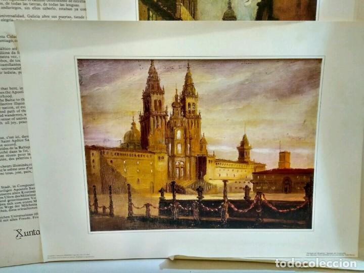 Arte: XUNTA DE GALICIA - CARPETA CON 6 LAMINAS - AÑO SANTO COMPOSTELANO 1982 - Foto 7 - 94321030