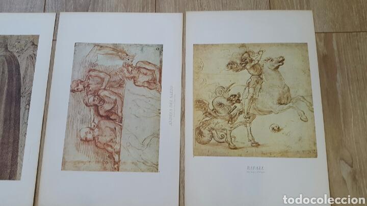 Arte: 15 LÁMINAS GRANDES PINTORES. RAFAEL, MIGUEL ANGEL, MURILLO, VELAZQUEZ, ETC - Foto 4 - 95212326