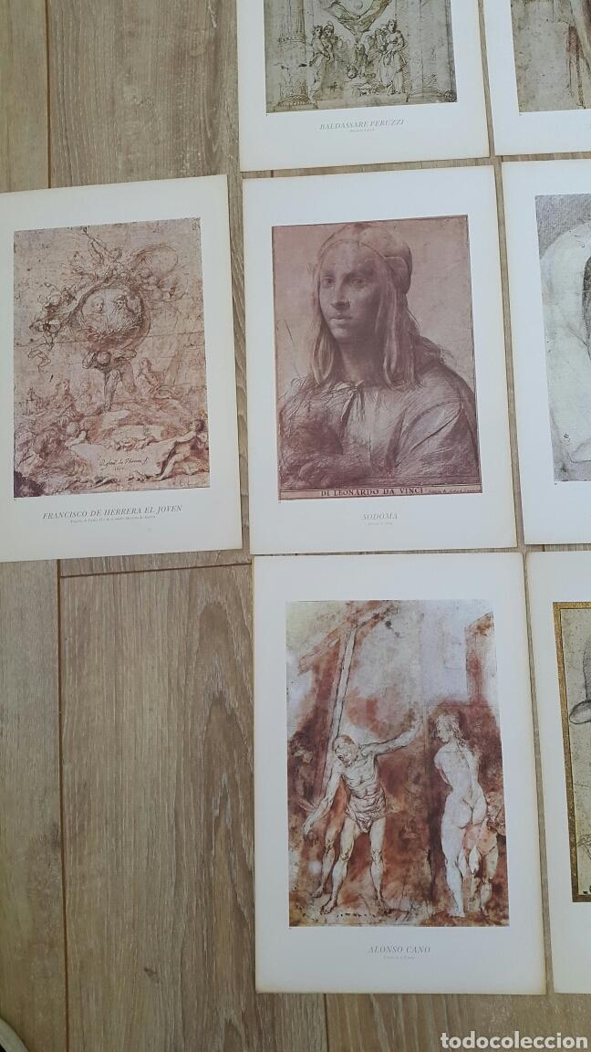 Arte: 15 LÁMINAS GRANDES PINTORES. RAFAEL, MIGUEL ANGEL, MURILLO, VELAZQUEZ, ETC - Foto 6 - 95212326