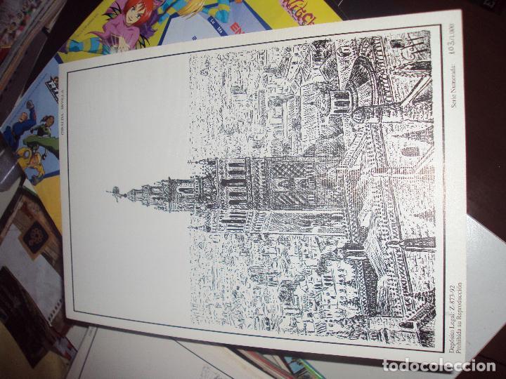 Arte: lote de 8 laminas litograficas numeradas y firmadas de sevilla de 1992 - Foto 2 - 97150843