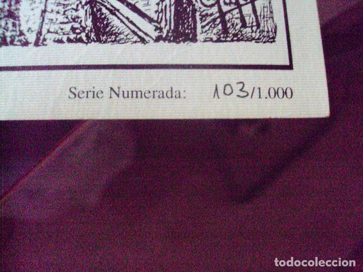 Arte: lote de 8 laminas litograficas numeradas y firmadas de sevilla de 1992 - Foto 4 - 97150843