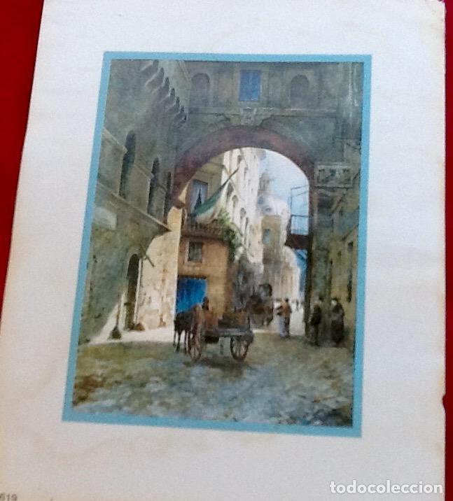Arte: LAMINA EN MINIATURA. ENVIO INCLUIDO EN EL PRECIO. - Foto 2 - 97875523