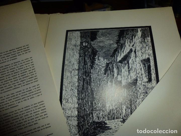 Arte: requena, carpeta nº 1 - barrio villa, dibujos de sanchez domingo, con 20 laminas + 1 de texto - Foto 3 - 100097843