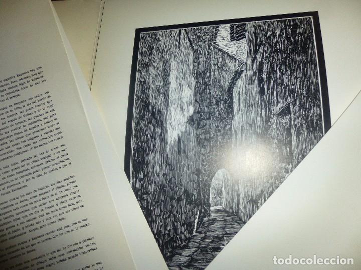 Arte: requena, carpeta nº 1 - barrio villa, dibujos de sanchez domingo, con 20 laminas + 1 de texto - Foto 4 - 100097843