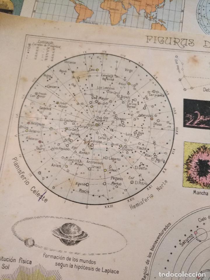 Arte: 4 antiguas laminas de comografia cartografia , años 30 litografia lit fernandez gonzalo corodoba - Foto 2 - 100704095