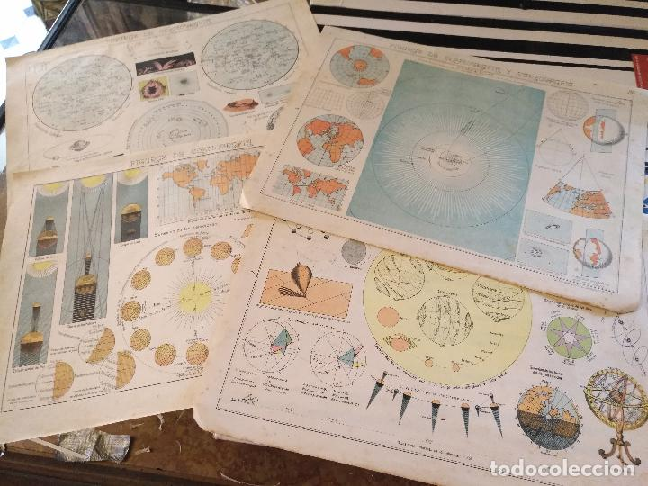 Arte: 4 antiguas laminas de comografia cartografia , años 30 litografia lit fernandez gonzalo corodoba - Foto 4 - 100704095