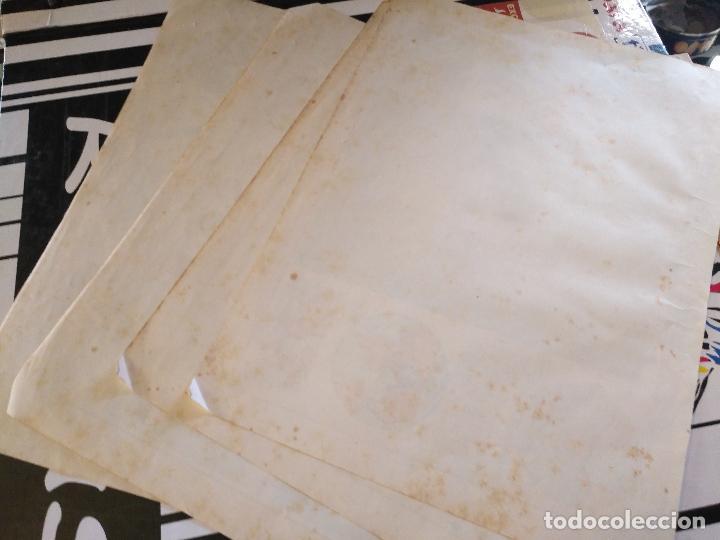 Arte: 4 antiguas laminas de comografia cartografia , años 30 litografia lit fernandez gonzalo corodoba - Foto 9 - 100704095