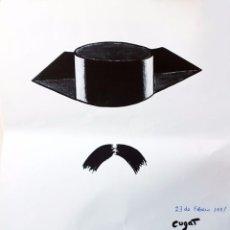 Arte: LAMINA XAVIER CUGAT. GUARDIA CIVIL.23 FEBRERO1981. Lote 102103251