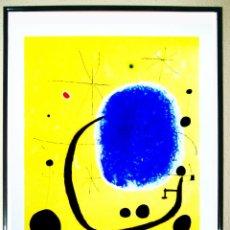 Arte: LAMINA DE OBRA - JOAN MIRÒ - L`ORD DE L`AZUR 1967-IMPRESA EN 2009 POR EDITORIAL RAUTERS.A.76X59. Lote 221980858
