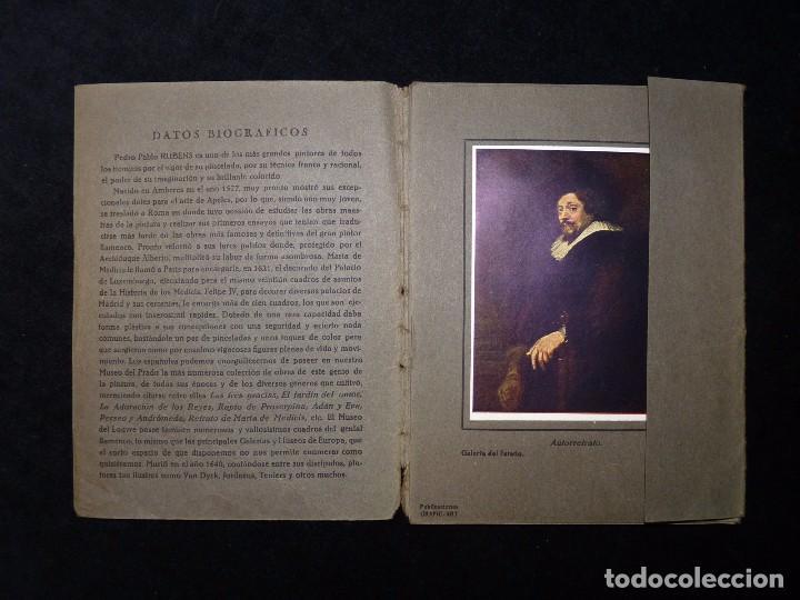 Arte: RUBENS. COLECCIÓN DE ARTE EUROPA. 10 REPRODUCCIONES EN COLOR. PUBLICACIONES GRAFIC-ART. VALENCIA - Foto 3 - 104423771