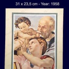 Arte: MIGUEL ANGEL - COLECCION LAS MARAVILLAS ARTISTICAS DEL MUNDO - 1958. Lote 105847539