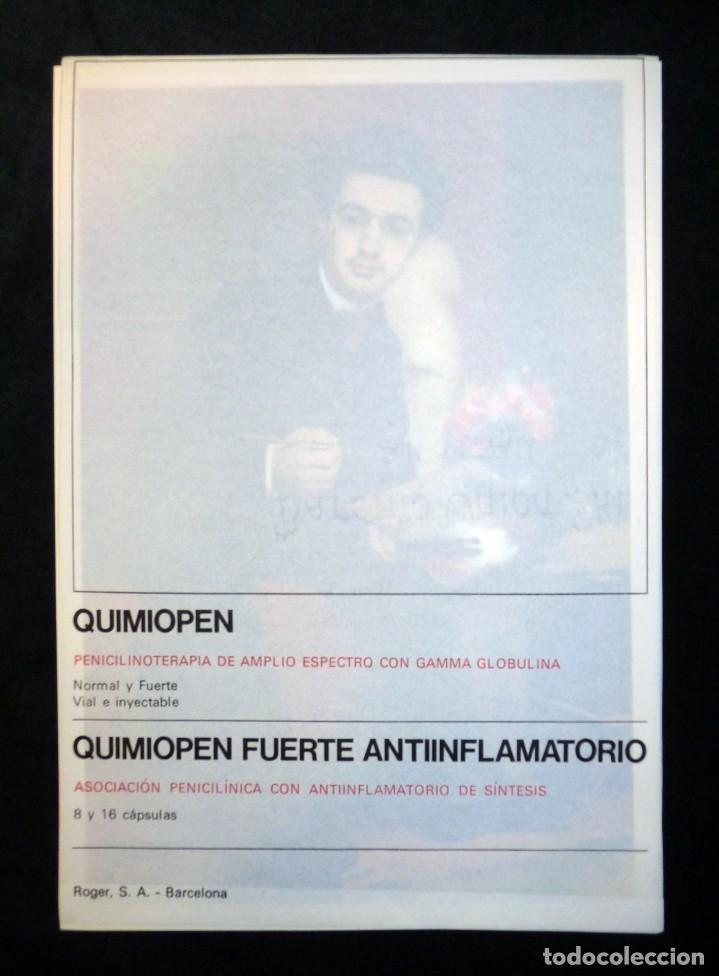 COLECCIÓN DE ARTE ROGER. QUIMIOPEN. PARÍS 1870-1920. 4 LAMINAS Nº 29 A 32. EDITA INGRO 1970 (Arte - Láminas Antiguas)