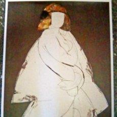 Arte: LAMINA DE - MANOLO VALDÈS - TITULO - HELÈNE VI - TAMAÑO 70X50 CMS. ORIGINAL.. Lote 109508831