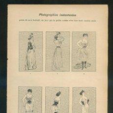 Arte: JÓB. PUBLICATIONS DE LA *VIE PARISIENNE* HOJA-LÁMINA: 157X228 MMS. LOTE DE 3.. Lote 110365847