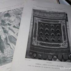 Arte: MATERIALES Y DOCUMENTOS DEL ARTE ESPAÑOL - 35 LÁMINAS ( 31 X 22). Lote 110439187