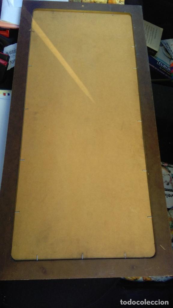 Arte: cuadro enmarcado con lamina, medidas: 80 x 39 - Foto 2 - 110451255