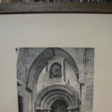 Arte: LAMINA CON GRABADO - PUERTA IGLESIA DE SAN MARTIN , SALAMANCA. Lote 110779531