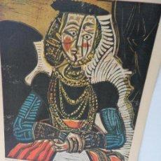 Arte: LAMINA LEVALIVER PARIS 1972 Nº X LITOGRAFIA MUSEO PICASSO . Lote 111777751