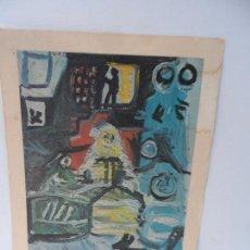 Arte: LAMINA LEVALIVER PARIS 1972 Nº XXI LAS MENINAS COMPOSICION CENTRAL MUSEO PICASSO . Lote 111778039