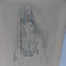 Arte: LAMINA LEVALIVER PARIS 1972 Nº XXXVIII LA SALCHICHONA MUSEO PICASSO . Lote 111778607