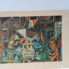Arte: LAMINA LEVALIVER PARIS 1972 Nº XXX LAS MENINAS MUSEO PICASSO . Lote 111778843