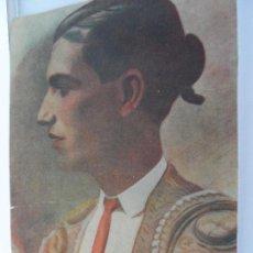 Arte: LAMINA TOREROS ANTIGUOS GITANILLO DE TRIANA FDO ENRIQUE SEGURA . Lote 111926931