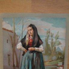Arte: MUJER DE HUELVA . Lote 112222515