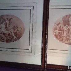 Arte: FRANCESCO BARTOLOZZI PAREJA LÁMINAS. Lote 113145251