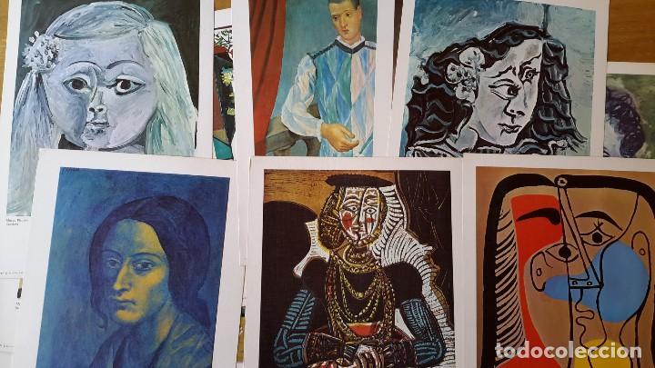 PICASSO LOTE DE 35 LÁMINAS. OBRAS DEL MUSEO PICASSO. SPADEM, PARÍS, 1972-1973 (Arte - Láminas Antiguas)