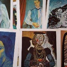 Arte - Picasso Lote de 35 láminas. Obras del Museo Picasso. SPADEM, París, 1972-1973 - 113380891