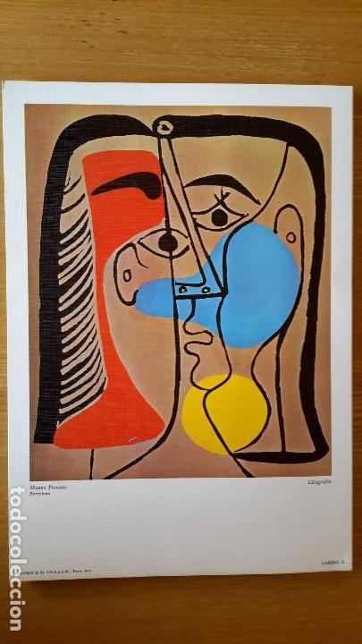 Arte: Picasso Lote de 35 láminas. Obras del Museo Picasso. SPADEM, París, 1972-1973 - Foto 2 - 113380891